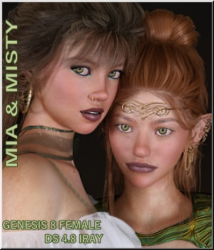 Mia & Misty - G8F Characters