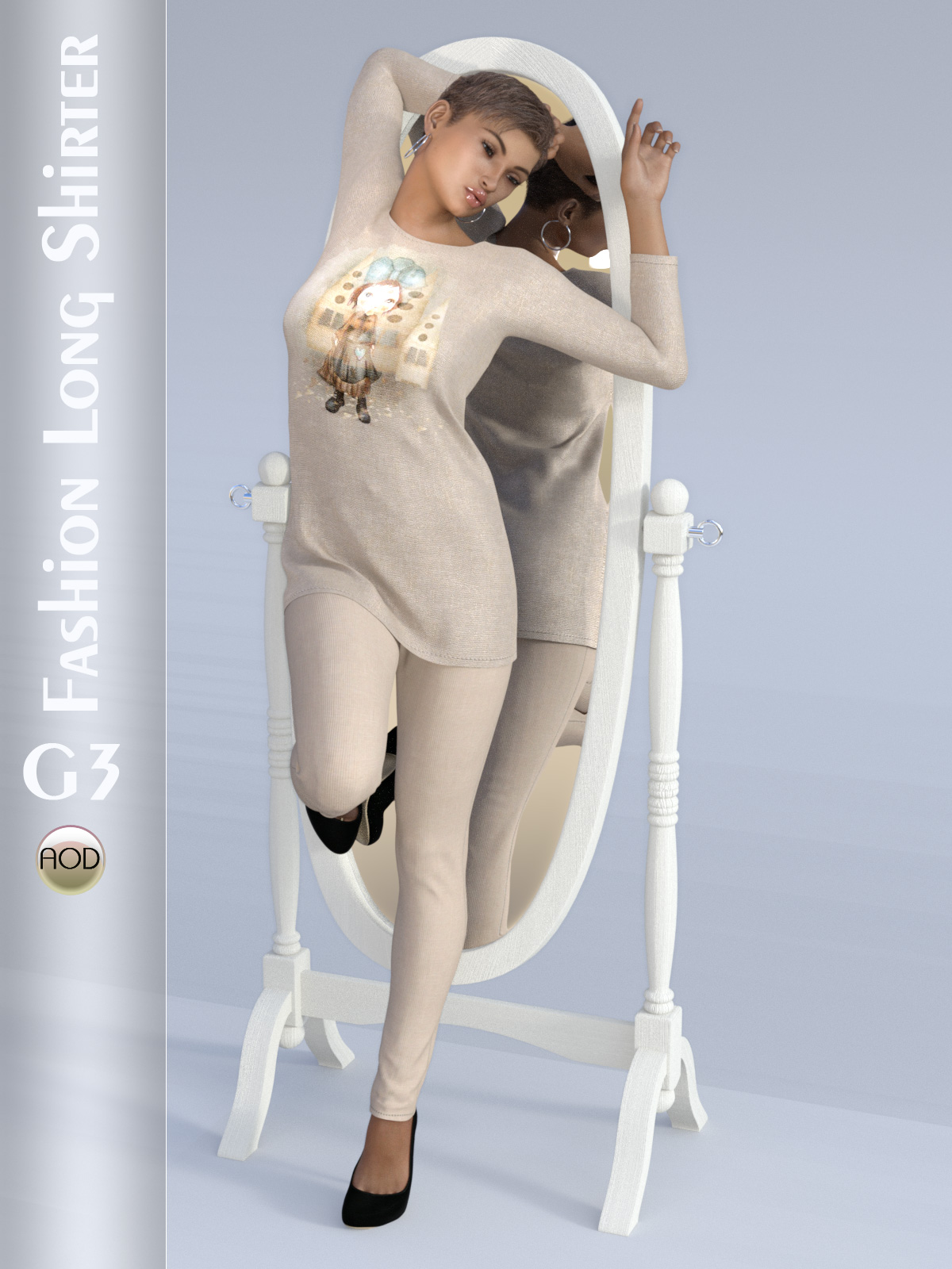 Fashion: Long Shirter G3