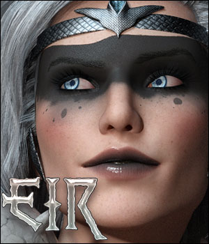Eir For Genesis 8 Female 3D Figure Assets Ladyillin