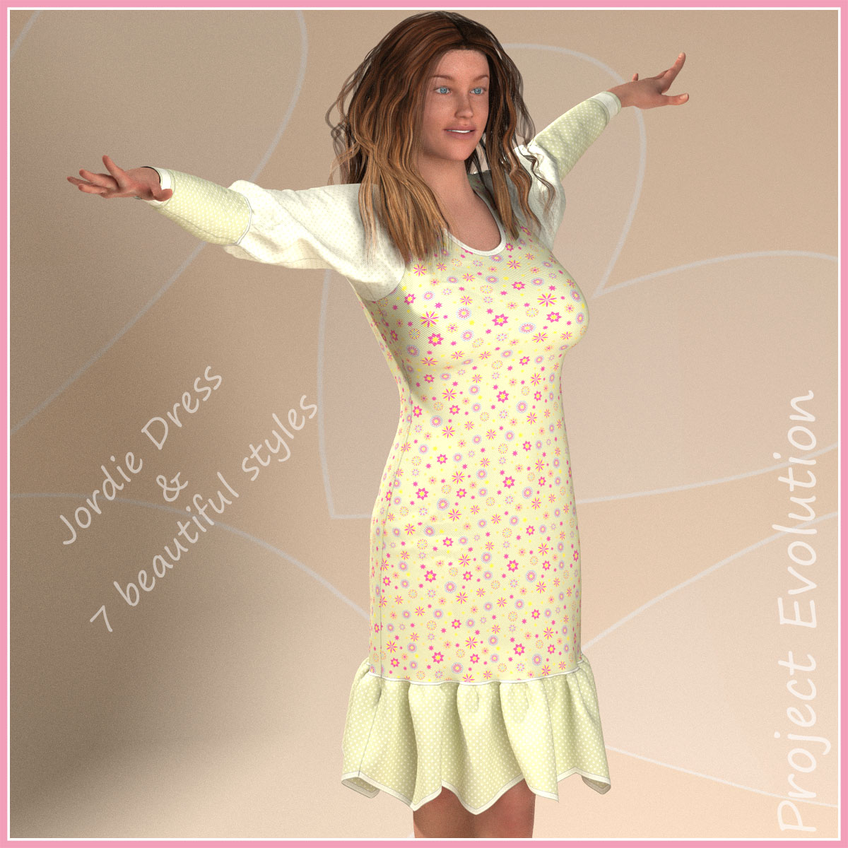 Jordie Dress and 7 Styles for Project Evolution
