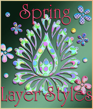 Spring Styles 2D Graphics antje