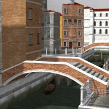 Canal Town for Poser image 1