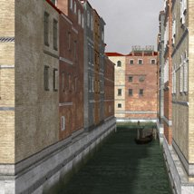 Canal Town for Poser image 2