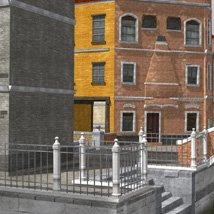 Canal Town for Poser image 7