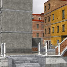 Canal Town for Poser image 8