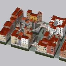 Canal Town for Poser image 9