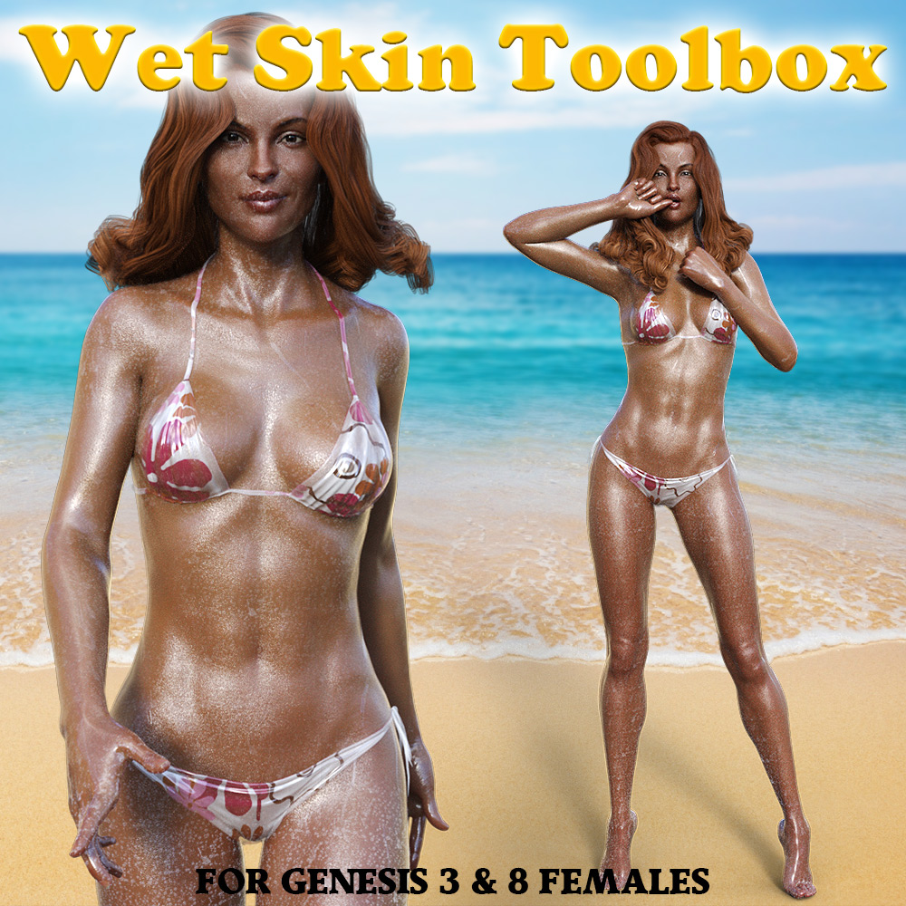 Wet Skin Toolbox for G3F & G8F by powerage