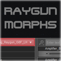 Morphing SciFi RayGun for G8F and G8M image 1