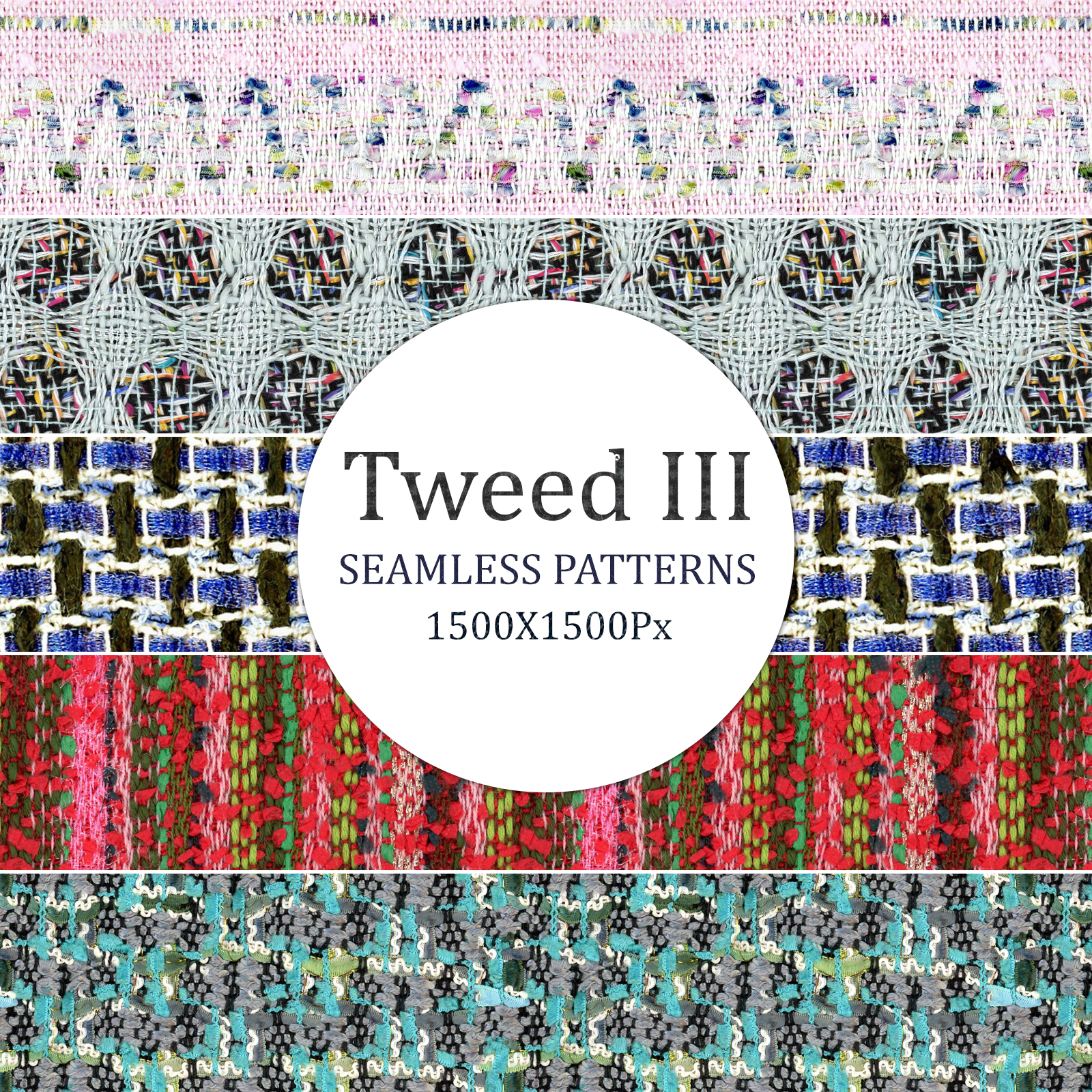 Tweed III - Seamless Patterns