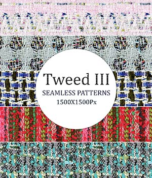 Tweed III - Seamless Patterns 2D Graphics Merchant Resources romawka