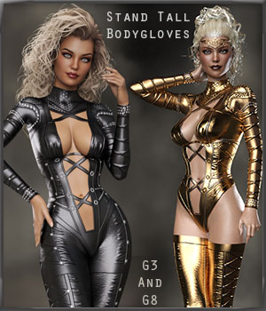 G3-G8 StandTall Bodyglove Set by lululee