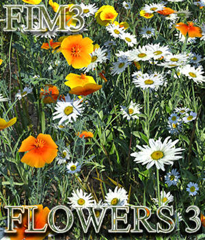 Flinks Instant Meadow 3 - Flowers 3 3D Models Flink