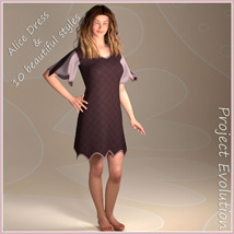 Alice Dress and 10 Styles for Project Evolution  image 1