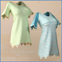 Alice Dress and 10 Styles for Project Evolution  image 5