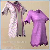Alice Dress and 10 Styles for Project Evolution  image 6