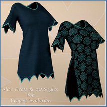 Alice Dress and 10 Styles for Project Evolution  image 7