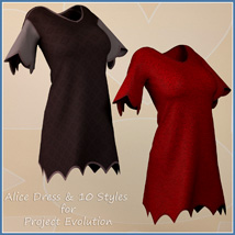 Alice Dress and 10 Styles for Project Evolution  image 8
