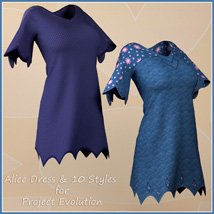 Alice Dress and 10 Styles for Project Evolution  image 9