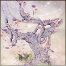 Four Seasons - Backgrounds and Poses for Genesis 3 and 8 Females image 1