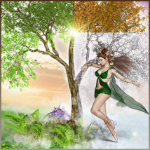 Four Seasons - Backgrounds and Poses for Genesis 3 and 8 Females image 2