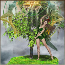 Four Seasons - Backgrounds and Poses for Genesis 3 and 8 Females image 3
