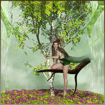 Four Seasons - Backgrounds and Poses for Genesis 3 and 8 Females image 5