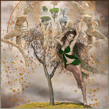 Four Seasons - Backgrounds and Poses for Genesis 3 and 8 Females image 6