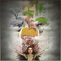 Four Seasons - Backgrounds and Poses for Genesis 3 and 8 Females image 7