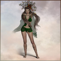 Four Seasons - Backgrounds and Poses for Genesis 3 and 8 Females image 9