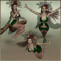 Four Seasons - Backgrounds and Poses for Genesis 3 and 8 Females image 10