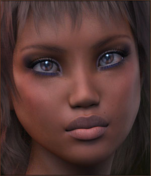 TDT-Asita for Genesis 3 Female 3D Figure Assets Deva3D