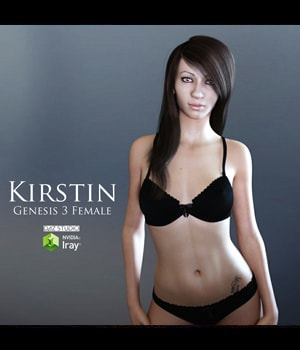 Kirstin for Genesis 3 Female 3D Figure Assets adamthwaites