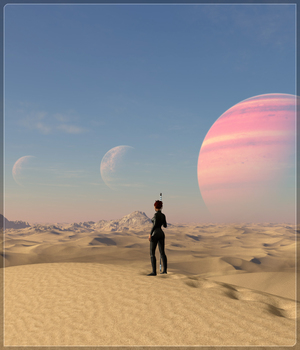 Easy Environments: ExoPlanet IV 3D Models Flipmode