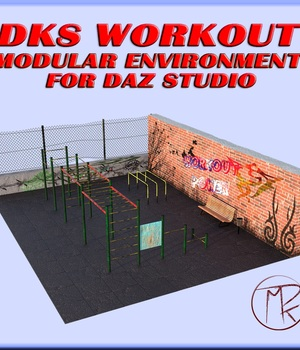 DKS WorkOut 3D Figure Assets 3D Models MarcosDk