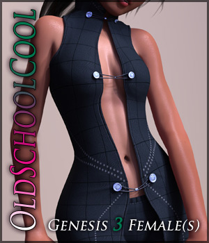 OldSchoolCool for Genesis 3 Females 3D Figure Assets Quanto