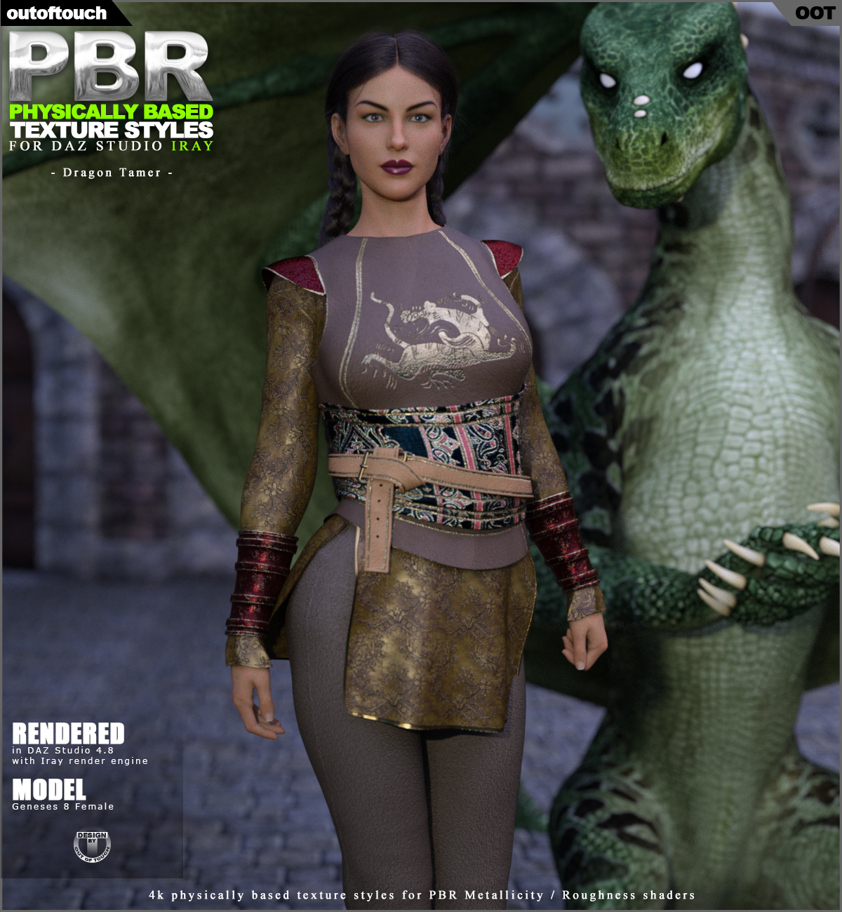 OOT PBR Texture Styles for Dragon Tamer