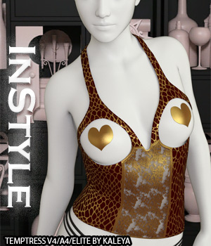 InStyle - Temptress V4/A4/Elite IRAY EXPANSION 3D Figure Assets -Valkyrie-