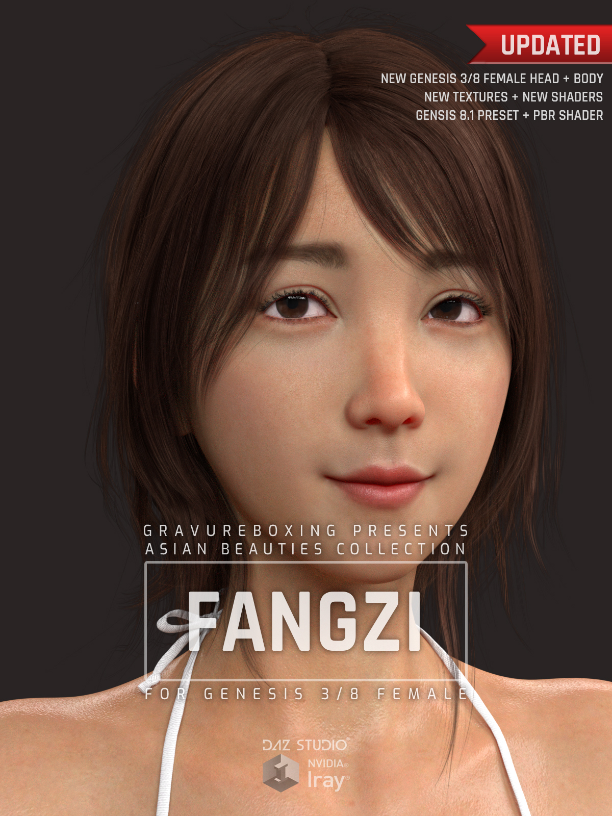 Fangzi G3G8F for Genesis 3 and 8 Female