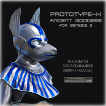 PROTOTYPE-X :-: Ancient Goddess for G8F image 3