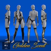 Golden Scent outfit for Victoria and Olympia 8 image 1