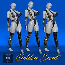 Golden Scent outfit for Victoria and Olympia 8 image 4
