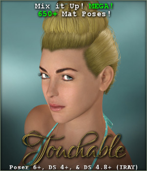Touchable Hr-198 3D Figure Assets -Wolfie-