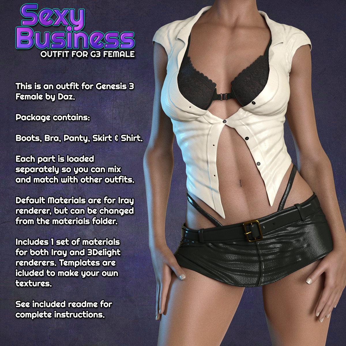 Exnem Sexy Business for G3 Female