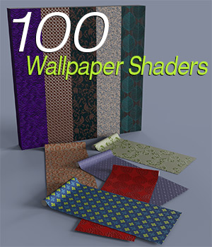 Slide3D 100 Wallpaper Shaders for iRay 3D Figure Assets Slide3D