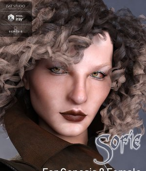 Sofie for Genesis 8 Female 3D Figure Assets brahann