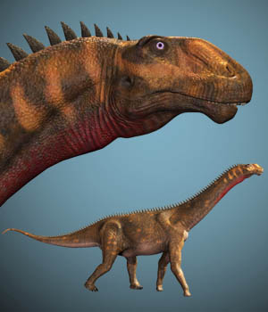 Mierasaurus DR 3D Models Dinoraul