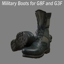 Slide3D Military Boots for G8F and G3F image 4