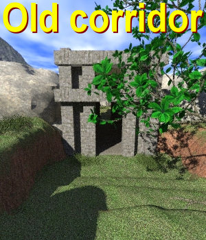 Old corridor Poser 3D Models JeffersonAF