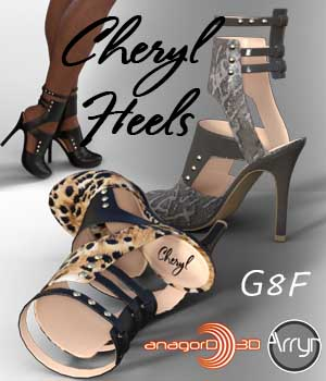 Cheryl Heels and Pantyhose G8F by Arryn