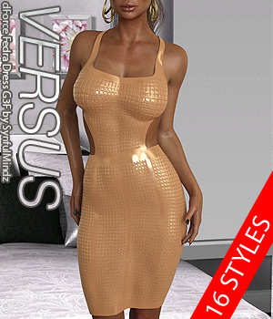 VERSUS - dForce Fedra Dress G3F 3D Figure Assets Anagord